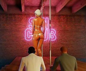 3D Hentai Stripper..