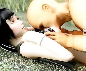 3D hentai seductress..