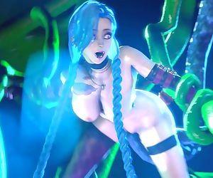 Hentai 3D Jinx Ecstasy..