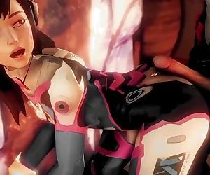 D.VA THE CUM SLUT -..