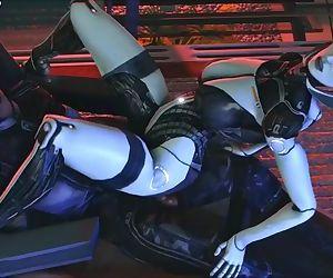 Mass Effect Edi rides..