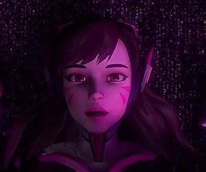 Inside D.Va´s girl..