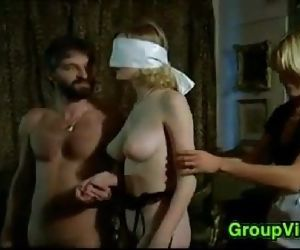 Blindfolded Blonde..
