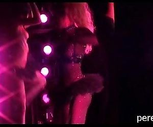 Burlesque naced show..