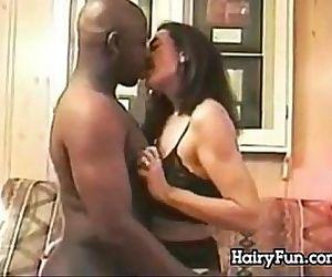 Hairy Mature Woman..