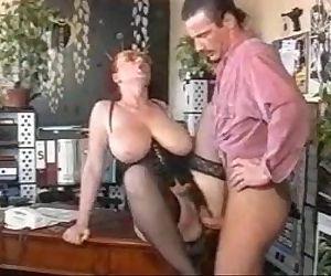 Big tited secretary and..