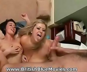 British BBW Leah gets..