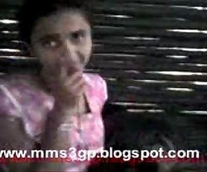 village girl striping -..
