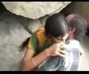 Desi Outdoor couple - 6..