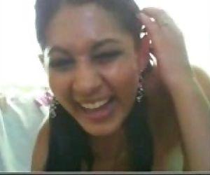 Desi Indian Hot babe on..