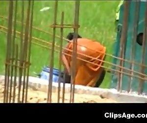 Desi woman caught..