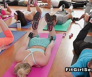 Fitness lesbians..