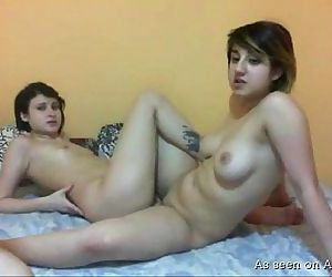 Naked lesbos play with..