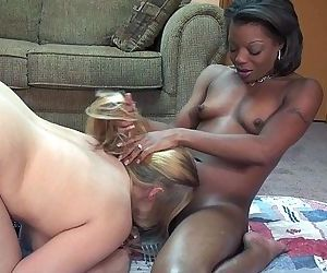 Gorgeous interracial..
