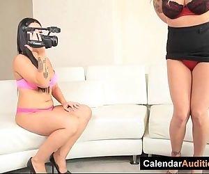 Lesbian Interviewer..