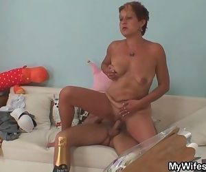 Cock hungry mother in..