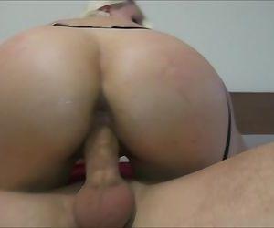 Big ass rides a dick..