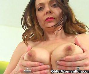 British milf Gemma Gold..