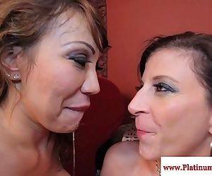 Ava Devine and Sara Jay..
