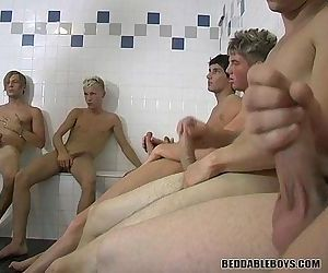 Group Jerkoff Session..