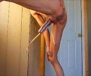 Pumped Big Cock Pissing..