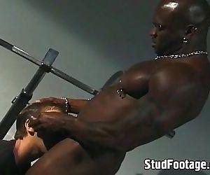 Interracial gay sex on..