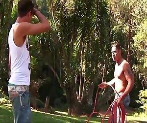 Hot muscled gay latino..
