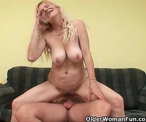 Older Mom With Big Tits..