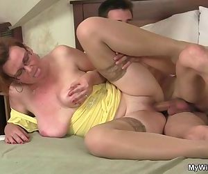 Cock hungry mom spreads..