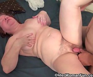 Chubby step-Granny With..