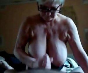 Massive Titted Granny..