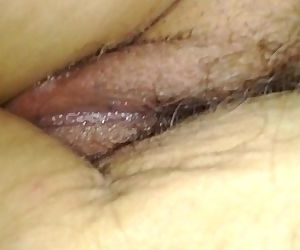 Sleeping wife\'s hairy..