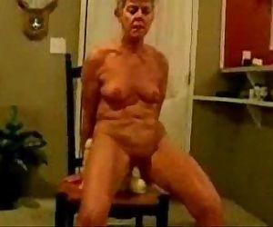 Horny granny really..