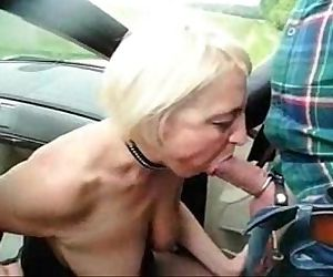 Submissive slut granny..