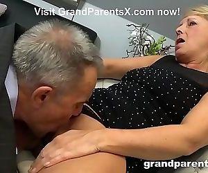 Old Couple Teaches Teen..