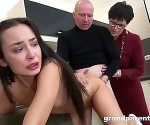 Creepy Old Couple Gives..