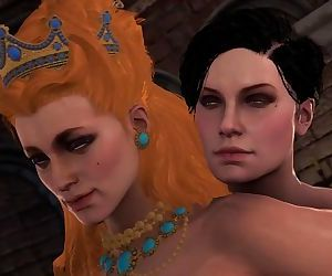 Witcher 3 breast-feed..