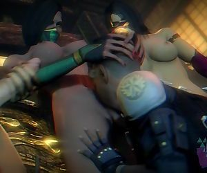 Toxic Kombat Futa Porn