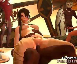 Lara Croft Obtaining..