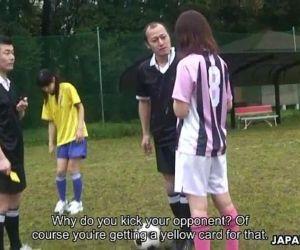 Asian soccer player..