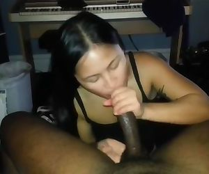 Blasian Couple - Creamy..