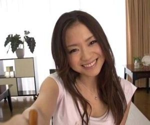 Busty beauty Mayuka..