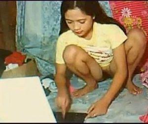 Sexy asian girl fucks -..