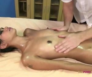 Skinny 18 year Asian..