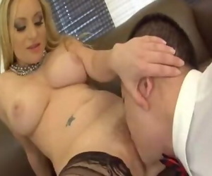 Obedient sub Licking..