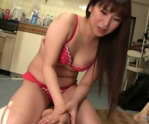 Sexy Asian Chick in Red..