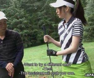 Golfing can be fun when..