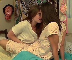 Lesbian bffs fingering..