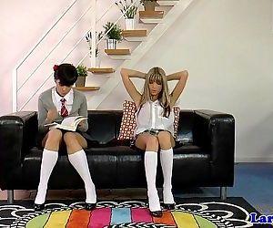 Lesbian schoolgirl..