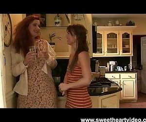Sexy Red head lesbian..